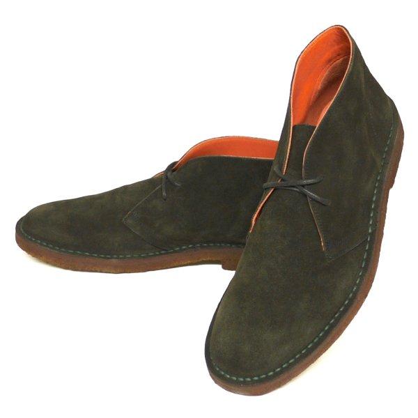 Polo Ralph Lauren Michael Chukka Boots ポロラルフローレン チャッカブーツ デザートブーツ レザーシューズ 革靴 スペイン製【$295】[新品] [032]