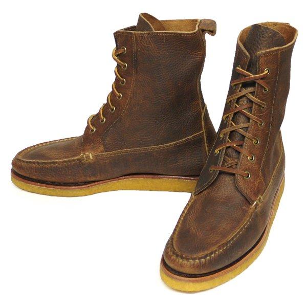 Polo Ralph Lauren Vandan Boots ポロラルフローレン グレインレザー ハンティングブーツ 革靴 USA製【$550】[新品] [033]