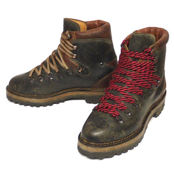 Ralph Lauren Falcon Wood Mountain Boots ラルフローレン マウンテンブーツ 革靴 イタリア製【$1,500】[新品] [034]