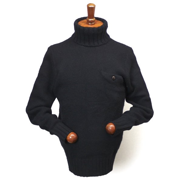 Polo Ralph Lauren ポロラルフローレン タートルネックセーター ウールセーター【$265】 [新品] [076]