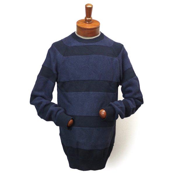 Barbour Dept.(B) Crochet Crew バブアー デプトB バーブァー ボーダーニット コットンセーター【$199】 [新品] [025]