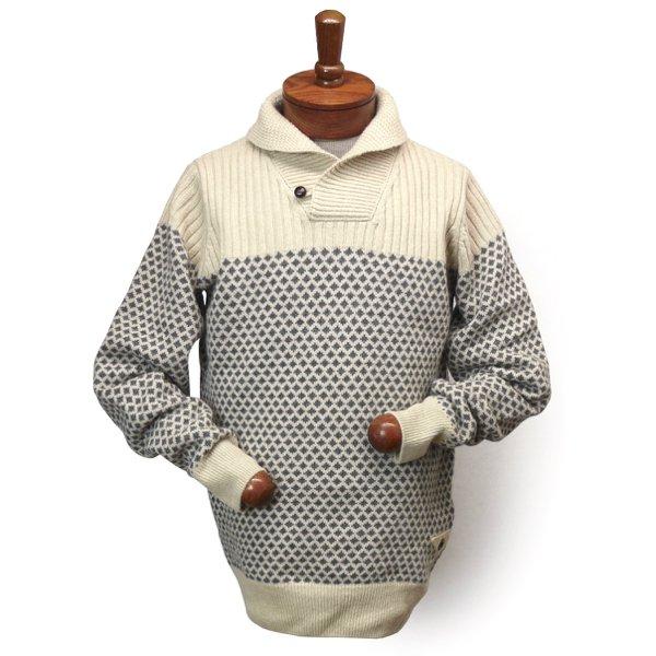 Barbour Windale Shawl Sweater バブアー・バーブァー ショールカラー ウールセーター【$199】 [新品] [026]