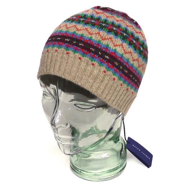 Polo Ralph Lauren ポロラルフローレン フェアアイル ニットキャップ 帽子【$125】 [新品] [001]