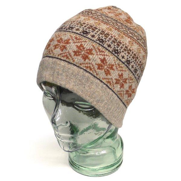 Barbour バブアー フェアアイル柄 ウールニットキャップ 帽子 [新品] [012]