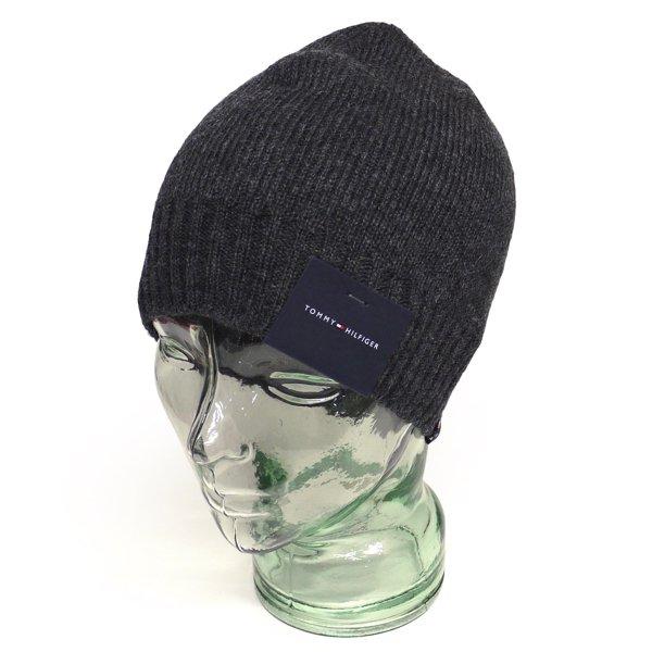 Tommy Hilfiger トミーヒルフィガー ニットキャップ 帽子 [新品] [001]