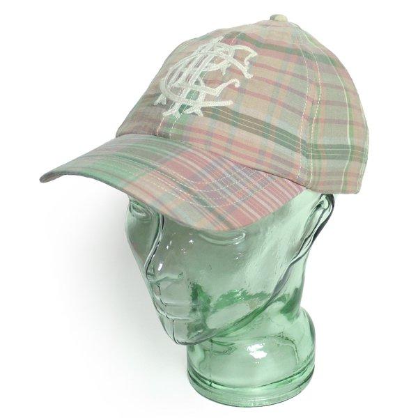 Rugby Ralph Lauren ラグビー ラルフローレン マドラスチェック ベースボールキャップ 帽子 [新品] [043]