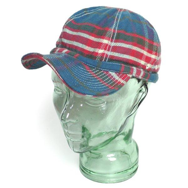 Rugby Ralph Lauren ラグビーラルフローレン ビンテージ フランネルキャップ 帽子 [新品] [027]