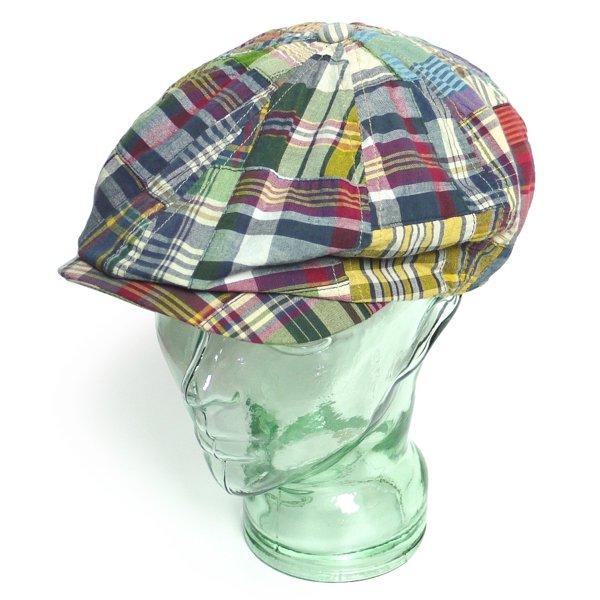 Polo Ralph Lauren ポロラルフローレン パッチワークマドラス ハンチングキャップ キャスケット 帽子【$59.50】 [新品] [013]