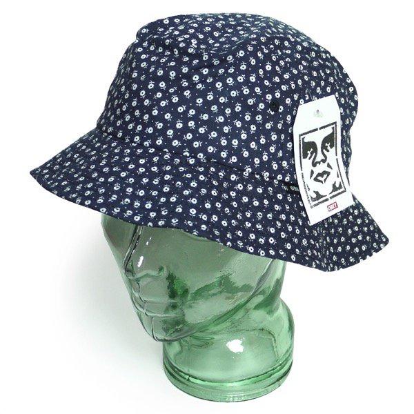 OBEY オベイ 花柄 バケットハット コットンハット 帽子 [新品] [006]