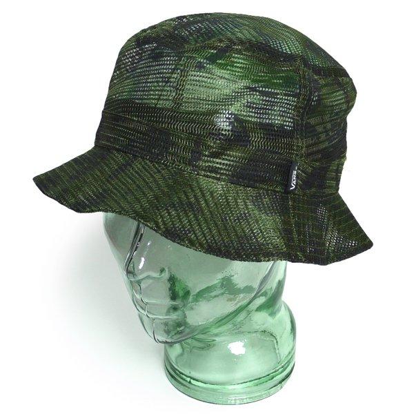 Vans Mesh Bucket Hat バンズ カモフラージュ メッシュハット バケットハット 帽子 [新品] [003]