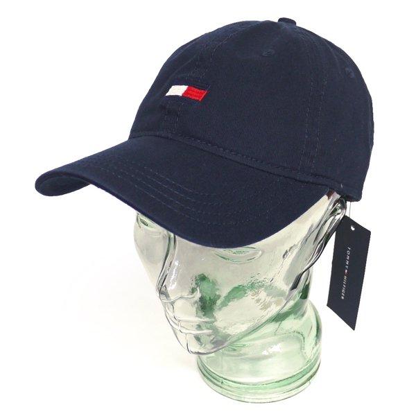 Tommy Hilfiger トミーヒルフィガー ストラップバック ベースボールキャップ 帽子 [新品] [002]