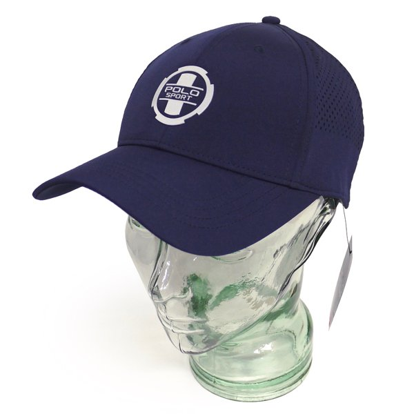 POLO SPORTS ポロスポーツ ラルフローレン ストラップバック メッシュキャップ ベースボールキャップ 帽子 [新品] [002]