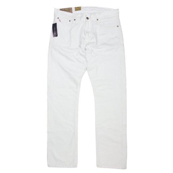 Polo Ralph Lauren Varick Slim 625 ポロラルフローレン ストレート ホワイトジーンズ カラージーンズ カラーデニム [新品] [021]