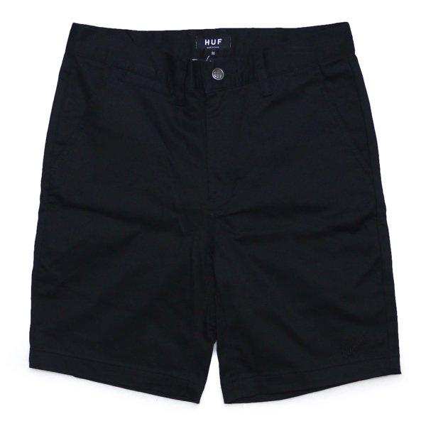 HUF Classic Fit Chino Shorts ハフ ストレッチ チノショーツ ワークショーツ ハーフパンツ ショートパンツ [新品] [001]