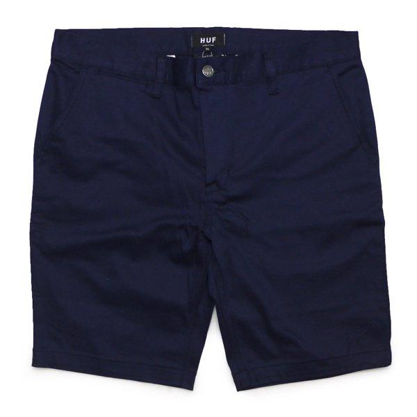 HUF Slim Fit Chino Shorts ハフ ストレッチ チノショーツ ワークショーツ ハーフパンツ ショートパンツ [新品] [002]
