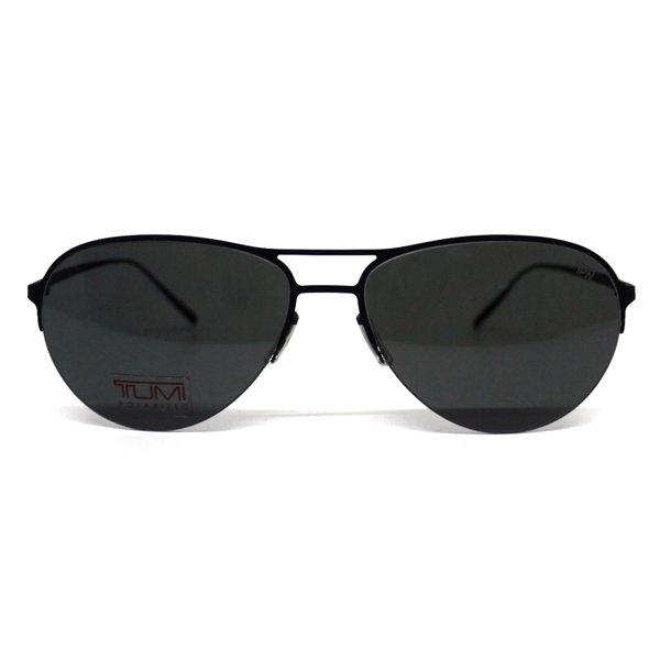 TUMI Wakato Sun Collection Polarized トゥミ アビエイターサングラス 偏光レンズ 日本製【$325】 [新品] [001]