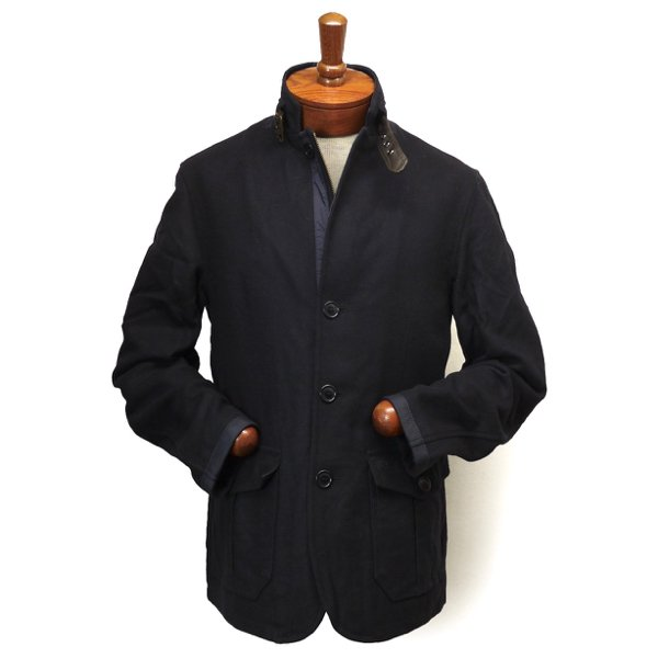 Barbour Barkston Jacket バブアー スタンドカラー メルトンウールジャケット【$449】[新品] [046]