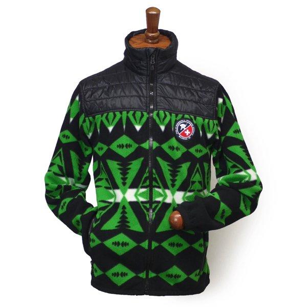 Polo Ralph Lauren SKI67 ポロラルフローレン フリースジャケット ネイティブ柄 【$298】 [新品] [059]