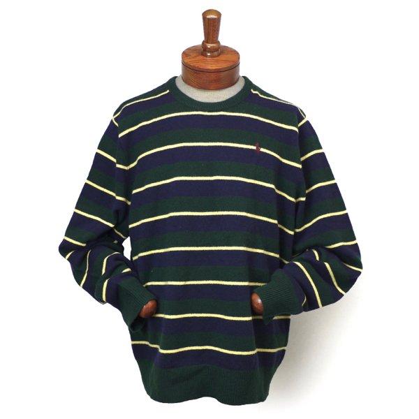Polo Ralph Lauren ポロラルフローレン ボーダー ウールセーター [新品] [092]