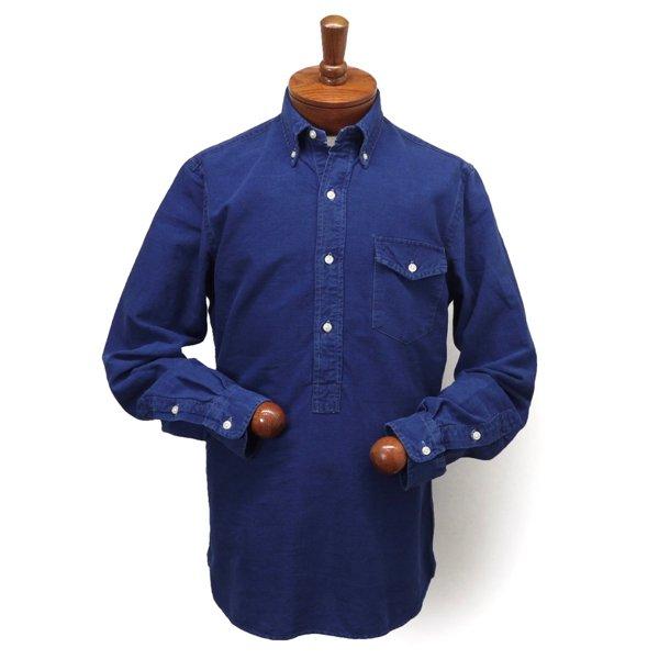 Ralph Lauren ラルフローレン インディゴ プルオーバー オックスフォードシャツ ボタンダウンシャツ [新品] [134]