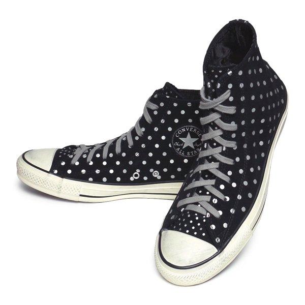 Converse ALL STAR HI USA企画 コンバース オールスター スニーカー スウェード ドット柄 [新品] [085]