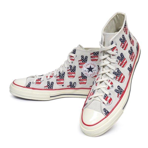 Converse CTAS 70 HI ALL STAR USA企画 コンバース チャックテイラー オールスター スウェード 三つ星 スニーカー(Women's有) [新品] [092]