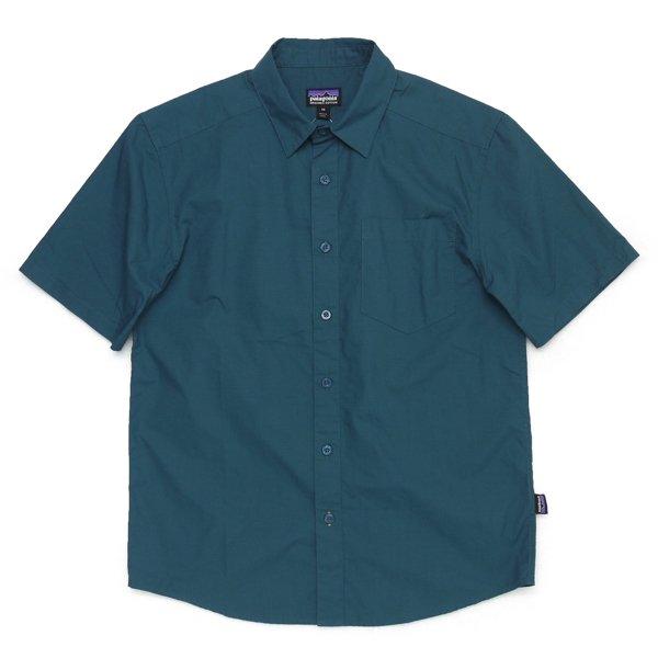 Patagonia Men's Fezzman Shirt パタゴニア フェズマンシャツ 半袖シャツ オーガニックコットン [新品] [011]