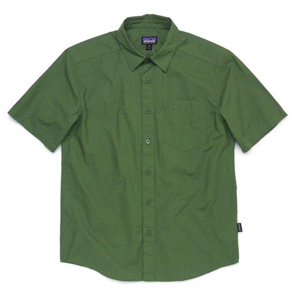 Patagonia Men's Fezzman Shirt パタゴニア フェズマンシャツ 半袖シャツ オーガニックコットン [新品] [012]