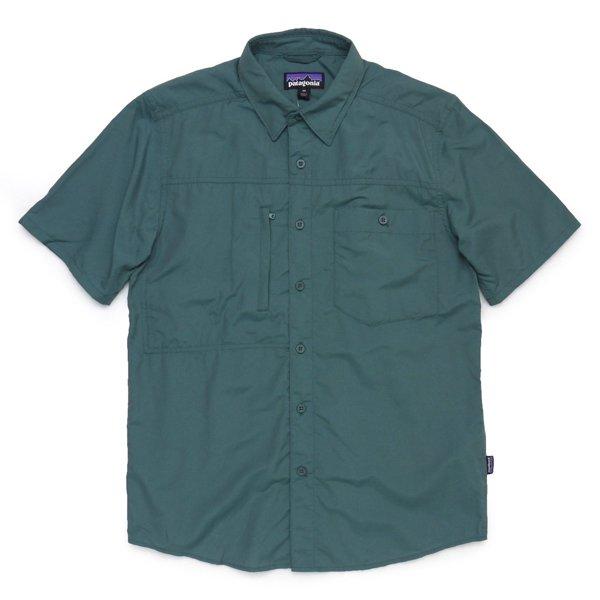 Patagonia Men's Gallegos Shirt パタゴニア ガジェゴスシャツ 半袖シャツ ナイロン×テンセル [新品] [013]