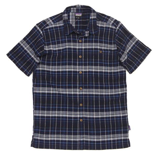 Patagonia Men's A/C Shirt パタゴニア A/Cシャツ 半袖シャツ チェックシャツ オーガニックコットン [新品] [007]