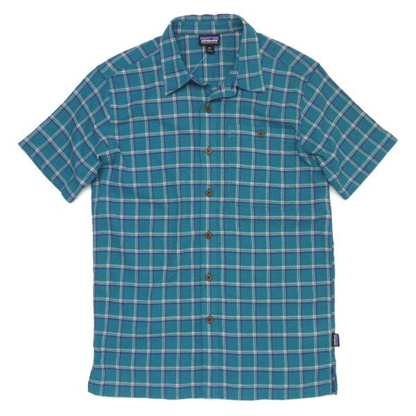 Patagonia Men's A/C Shirt パタゴニア A/Cシャツ 半袖シャツ チェックシャツ オーガニックコットン [新品] [008]