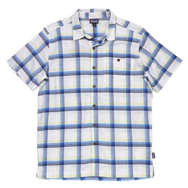 Patagonia Men's A/C Shirt パタゴニア A/Cシャツ 半袖シャツ チェックシャツ オーガニックコットン [新品] [010]