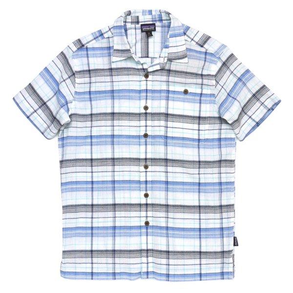 Patagonia Men's A/C Shirt パタゴニア A/Cシャツ 半袖シャツ チェックシャツ オーガニックコットン [新品] [006]
