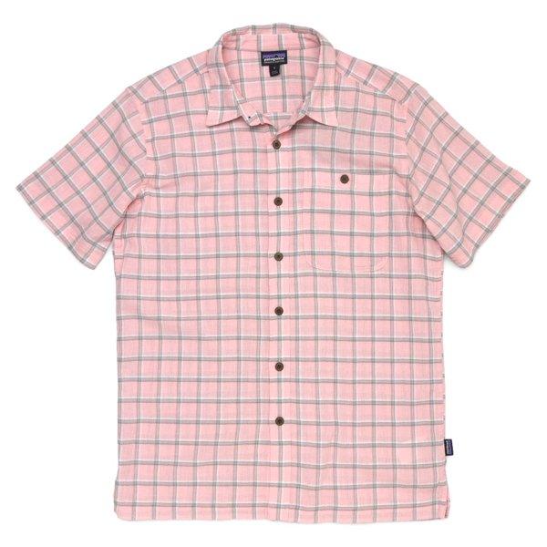 Patagonia Men's A/C Shirt パタゴニア A/Cシャツ 半袖シャツ チェックシャツ オーガニックコットン [新品] [004]