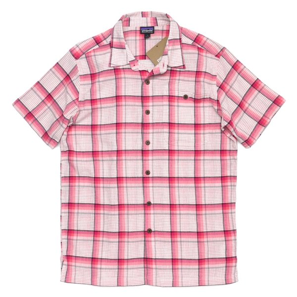 Patagonia Men's A/C Shirt パタゴニア A/Cシャツ 半袖シャツ チェックシャツ オーガニックコットン [新品] [005]
