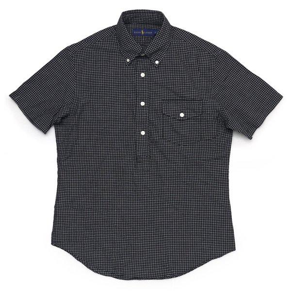 Polo Ralph Lauren ポロラルフローレン ピンチェック ボタンダウン プルオーバーシャツ 半袖シャツ【$125】 [新品] [139]