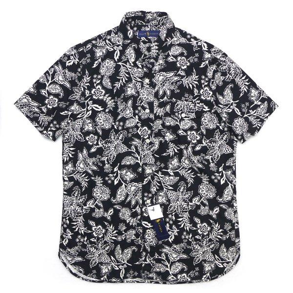 Polo Ralph Lauren ポロラルフローレン 花柄 ボタンダウン オックスフォードシャツ 半袖シャツ [新品] [143]