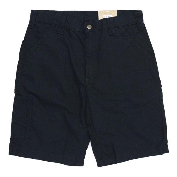 Carhartt Work Shorts Loose Original Fit B147 カーハート キャンバス ワークショーツ ハーフパンツ [新品(IRREGULAR)] [007]