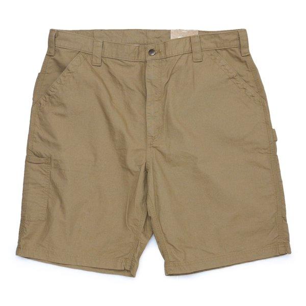 Carhartt Work Shorts Loose Original Fit B147 カーハート キャンバス ワークショーツ ハーフパンツ [新品(IRREGULAR)] [012]