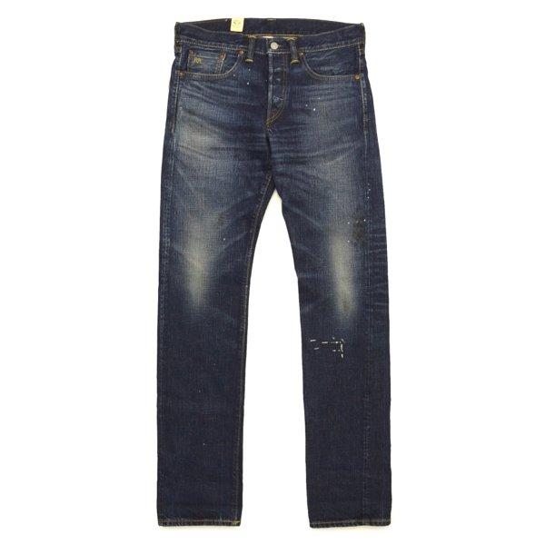 RRL DoubleRL Slim Fit Jeans ダブルアールエル インディゴ スリムフィットジーンズ ジーパン セルビッジデニム USA製【$420】 [新品] [033]