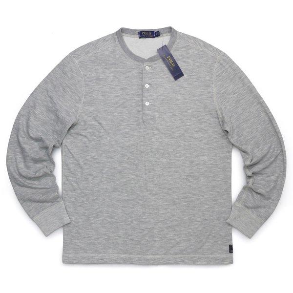 Polo Ralph Lauren ポロラルフローレン ヘンリーネック サーマルシャツ 長袖Tシャツ ロンT カットソー [新品] [063]