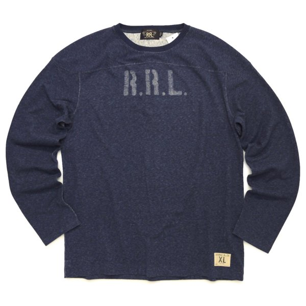 RRL DoubleRL ダブルアールエル ステンシル サーマルシャツ 長袖Tシャツ ロンT カットソー【$245】 [新品] [029]