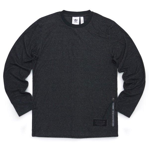 adidas Originals アディダスオリジナルス パイル  カットソー 長袖Tシャツ ロンT [新品] [023]