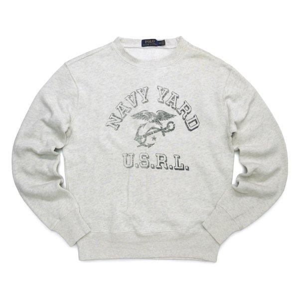 Polo Ralph Lauren ポロラルフローレン ビンテージプリント スウェット トレーナー [新品] [022]