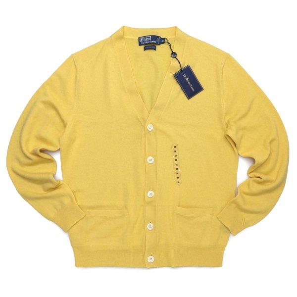 Polo Ralph Lauren ポロラルフローレン カシミアカーディガン【$425】 [新品] [052]