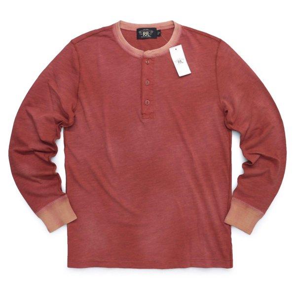 RRL DoubleRL ダブルアールエル サーマルシャツ 長袖Tシャツ ロンT カットソー【$185】 [新品] [030]