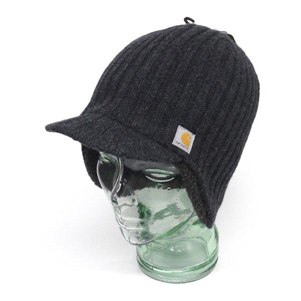 Carhartt カーハート 耳当て付き ニットキャップ 防寒キャップ 帽子 [新品] [001]
