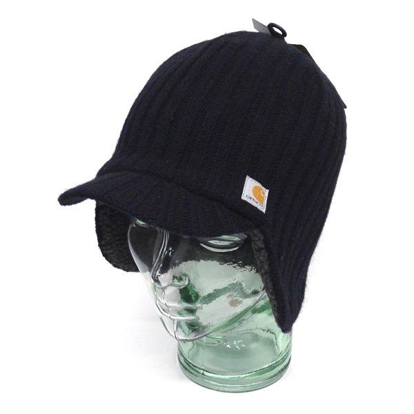 Carhartt カーハート 耳当て付き ニットキャップ 防寒キャップ 帽子 [新品] [002]