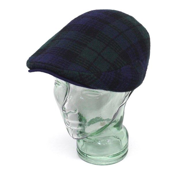 Polo Ralph Lauren ポロラルフローレン ブラックウォッチ ニットハンティングキャップ ハンチング帽 帽子 [新品] [045]