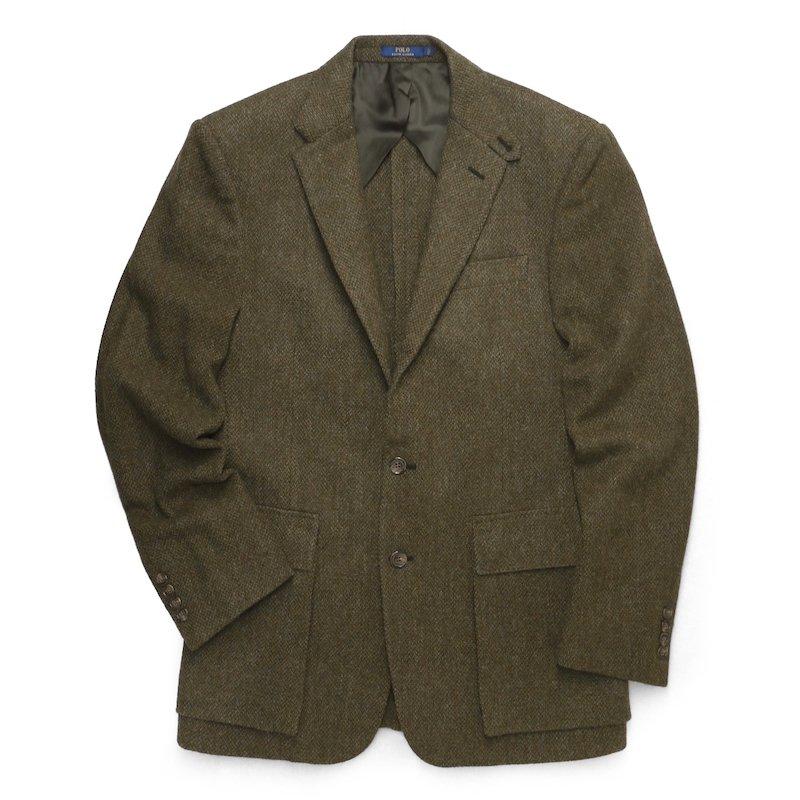 Polo Ralph Lauren ポロラルフローレン アルパカツィード  テーラードジャケット ブレザー【$995】 [新品] [069]